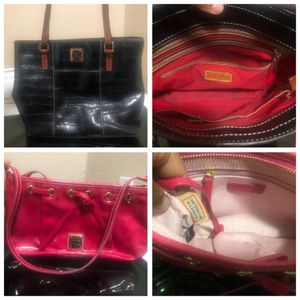 Dooney and Bourke patent leather small and med croc both for $25 for Sale in Fort Worth, TX