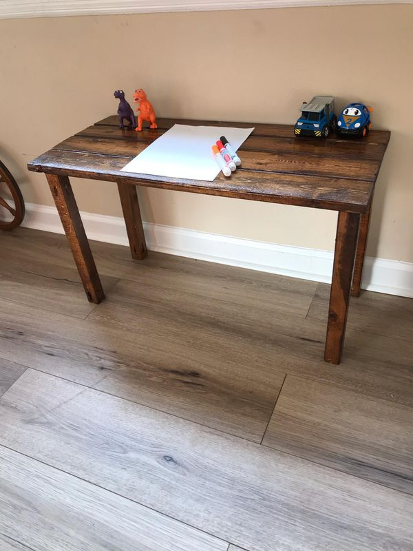 Toddler Desk or Kids Play Table