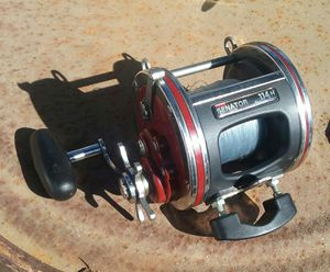 Fishing reel with power handle for Sale in Whittier, CA