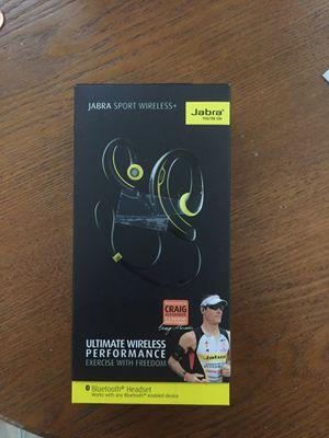 Jabra sport plus wireless in ear headphones for Sale in Hyattsville, MD