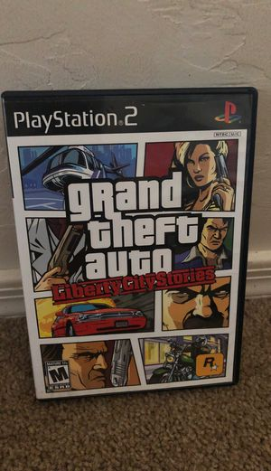Grand Theft Auto Liberty City Stories (PS2, Very Good Condition) Complete for Sale in Vail, AZ