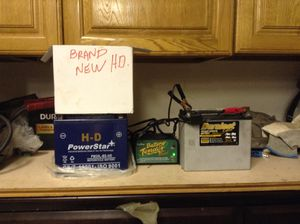 Harley batteries new for Sale in Port St. Lucie, FL