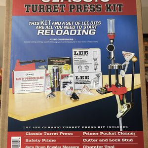 Lee 4 Turret Press Deluxe Kit Brand New in Box! for Sale in Fullerton, CA