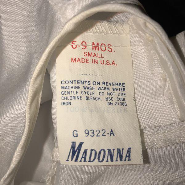 Vintage Madonna Christening Baptism gown dress