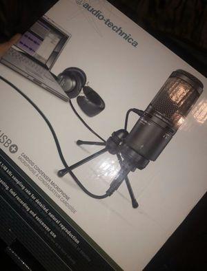 Audio Technica USB recording microphone for Sale in Dallas, TX