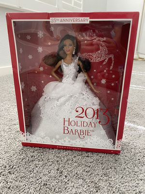 Collectors Holiday Barbie- 2013 for Sale in Las Vegas, NV