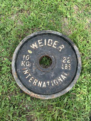 Gym weights 22 for Sale in Miami Gardens, FL