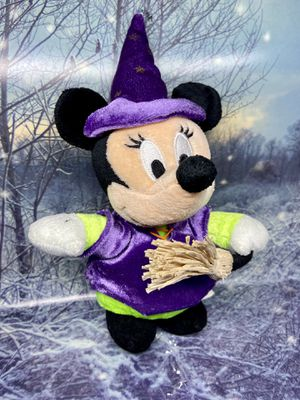 "Halloween Minnie Mouse 10"" plush. Disney Halloween plushie for Sale in Lakewood, CA"
