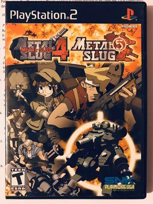 Metal slug 4/5 PS2 for Sale in San Diego, CA