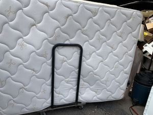 Oak bed with mattress set for Sale in Conway, PA