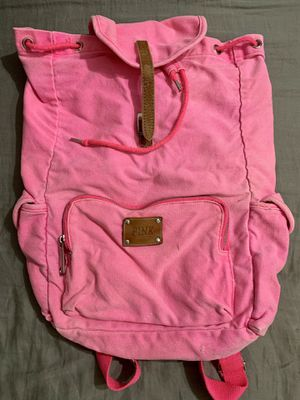 Used pink Victoria secret backpack for Sale in Channelview, TX