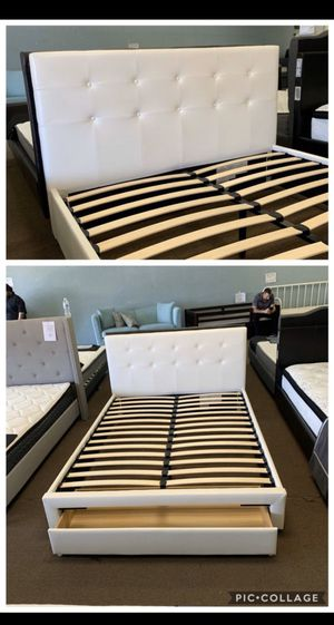 Queen or Full Bed Frame Only for Sale in Yucaipa, CA