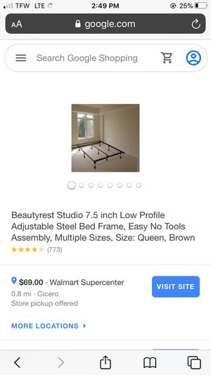 Adjustable Queen bed frame for Sale in Decatur, IN