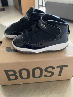 Air Jordan space jam 11s toddler sz 7c for Sale in Miami, FL