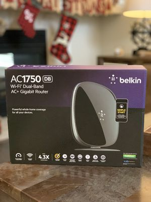 Belkin AC1750 Router 450Mbps Long Range Router and Modem for Sale in Katy, TX