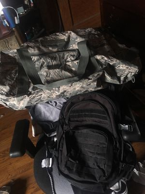 S.O.C Military Backpack and Duffle Bag for Sale in Oak Park, IL