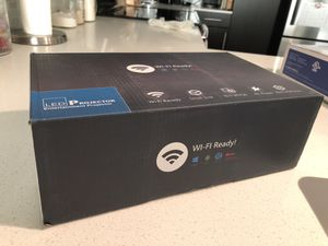 Mini WiFi Portable LED projector with universal projector Ceiling Mount Kit for Sale in Austin, TX