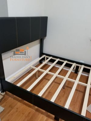 Brand New Queen Size Leather Platform Bed Frame (4 Color Options) for Sale in Silver Spring, MD