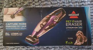 BISSELL PET HAIR ERASER LITHIUM-ION 14V CORDLESS HAND VACUUM for Sale in Gresham, OR