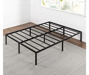 Steel queen bed frame for sale for Sale in Salt Lake City, UT