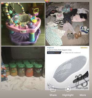 Jumper, baby bath tub, baby food and clothes for girl 3-12 months for Sale in Darnestown, MD
