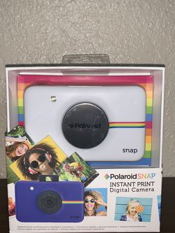 Poloroid Snap Instant Print Camera - White, New In Original Packaging for Sale in Longview,  TX