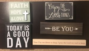 Home (bedroom/living room) / Wall decor for Sale in Columbus, OH