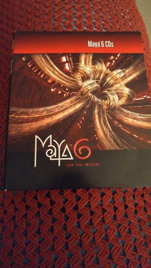 Alias Maya 6 cds for Sale in Santa Maria, CA