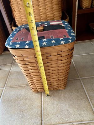 Beautiful Longaberger Basket with Top-protector🥰 for Sale in Wantagh, NY