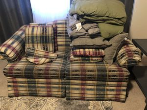 Couch and Loveseat for Sale in Anchorage, AK