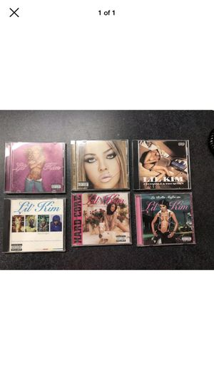 6 Lil Kim CDS - Titles are pictured for Sale in Griswold, CT