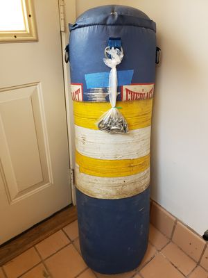 Boxing punching bag for Sale in The Bronx, NY