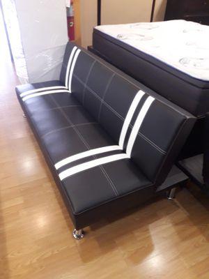 Black and White Futon Bed for Sale in Santa Monica, CA