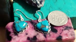 NWT-MOJAVE STERLING ❤HEART SCALLOPED EARRINGS. for Sale in Palmetto, FL