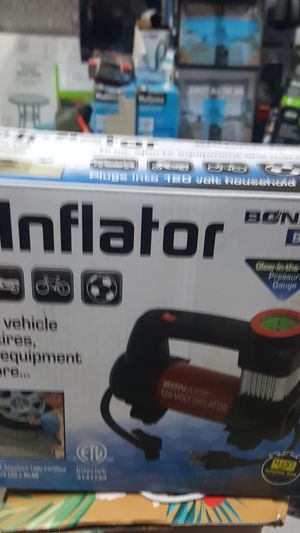 120 volts inflator for Sale in Detroit, MI