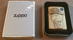 Poker hand zippo lighter kings full of aces New for Sale in Three Rivers, MI