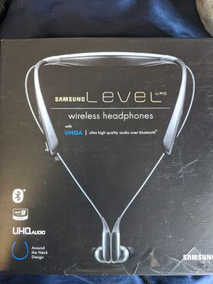 Samsung Level U pro wireless headphones for Sale in Claremont, CA