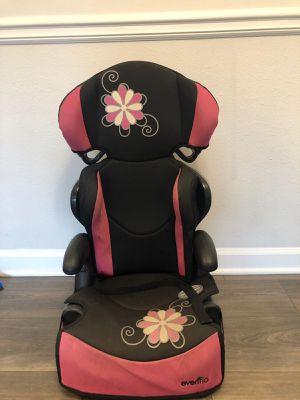 Evenflo high back booster car seat for Sale in Alpharetta, GA