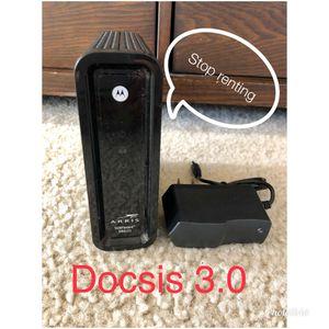 Motorola SB6121 Docsis 3.0 cable modem for Sale in Phoenix, AZ