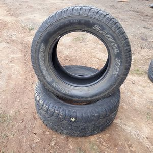 """Pair of 18"""" Wild Country Truck Tires for Sale in Sandy, OR"""