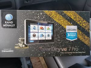 Rand mcnally overdrive 7 pro for Sale in Cottonwood Heights, UT