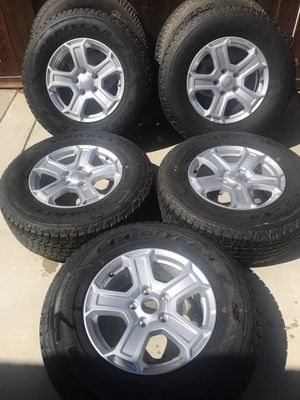 JEEP WRANGLER JL TIRES AND WHEELS for Sale in Menifee, CA