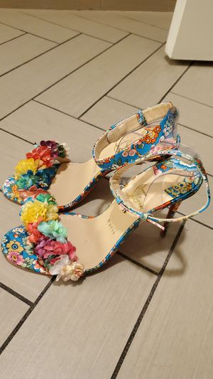 Christian Louboutin Floral Heels - US 9.5 / EU 40 for Sale in Nashville, TN