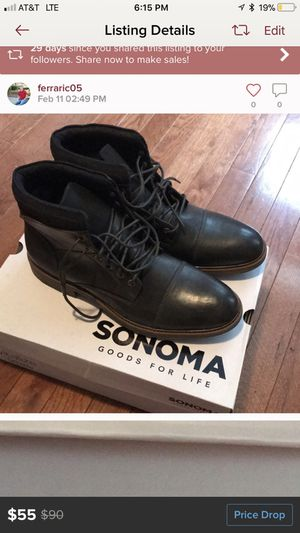 Sonoma High Top Boot for Sale in Pittsburgh, PA