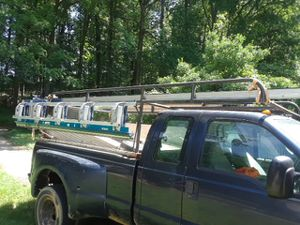 Solid Ladder rack porta escaleras. 8ft to Ford gmc chevi for Sale in Adelphi, MD
