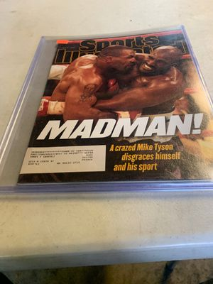 Mike Tyson vs Evander Holyfield July 7 th 1997 for Sale in Seattle, WA