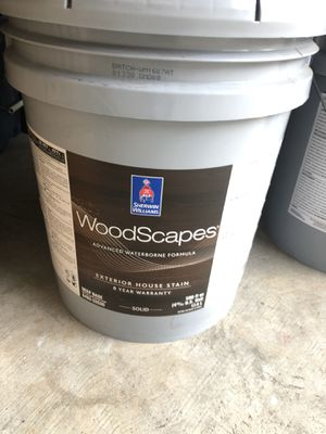 Deck stain- white for Sale in Lithia Springs, GA