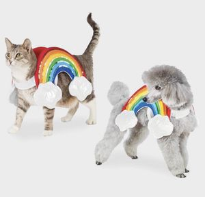Rainbow Pet Costume Halloween Outfit Dog Cat Size Small for Sale in Redondo Beach, CA