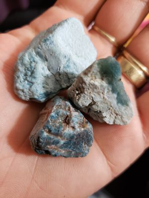 Blue apatite crystal for Sale in Chicago, IL