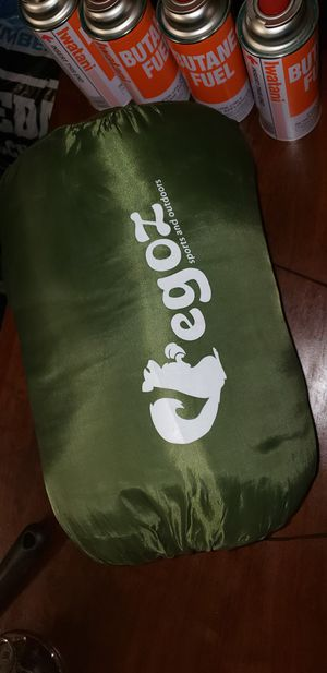 Egoz Camping Sleeping Bag- Envelope for Sale in Humble, TX